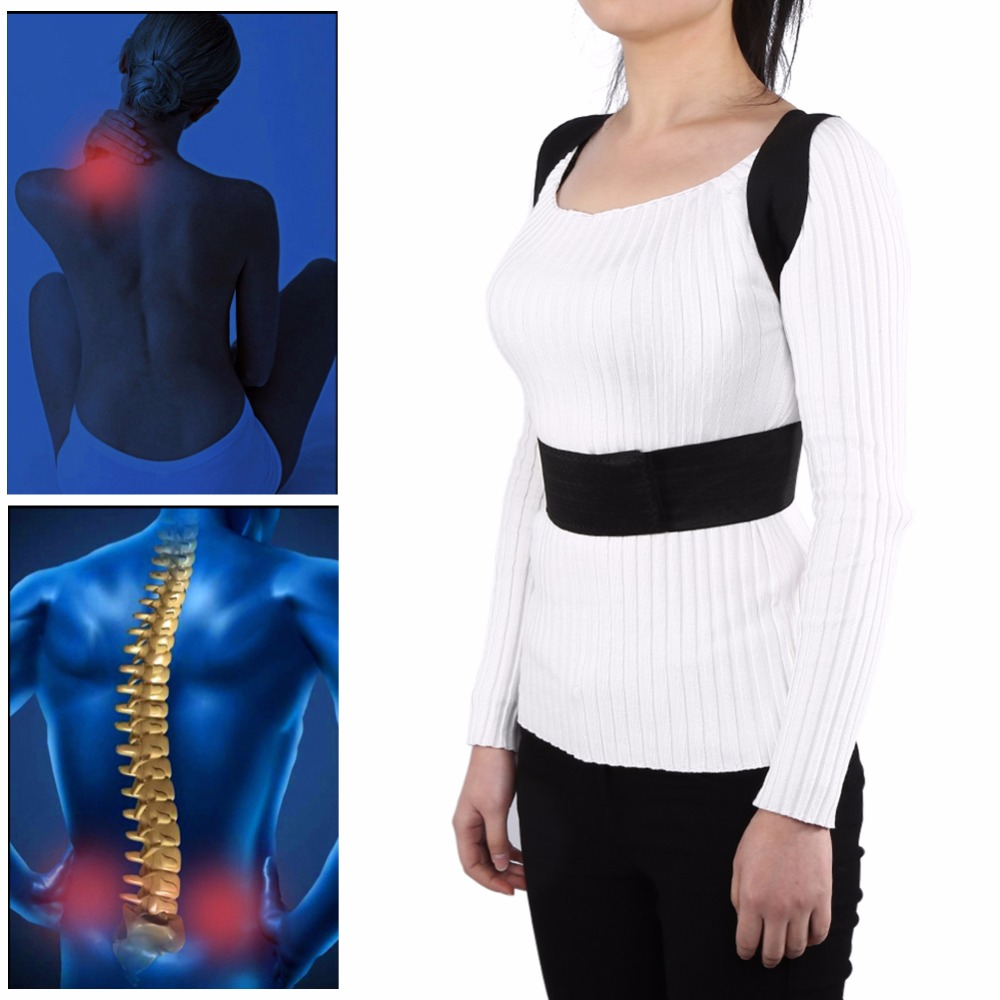 High Quality Adjustable Posture Corrector Belt to Support Back and Spine for Men and Women Suitable to Pull the Back for Body Shaping 7