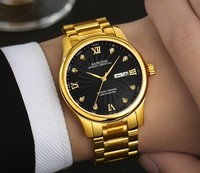 39mm Sangdo Luxury watches Automatic Self-Wind movement High quality Business watch Auto Date black color dial Men's watch 59S