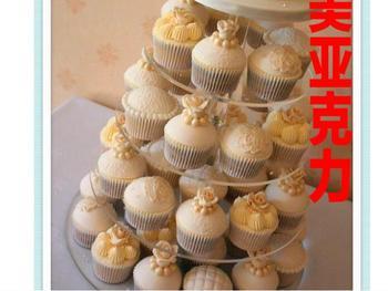 5 tier acrylic double sugar cake wearing three tier upscale hotel glass aircraft art dessert acrylic cupcake stand decoration