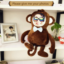 Real doll custom The monkey photos baby dolls diy birthday gift Custom pillow humanoid cushion Christmas