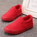 2017 New Spring Girls Boys White Canvas Shoes 8 colors Children Casual Shoes Soft Sole Classic Kids Flat Sneakers