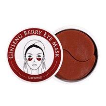 Ginseng Berry Eye Mask 60pcs Eye Care Sleep Masks Remover Dark Dircles Eye Wrink