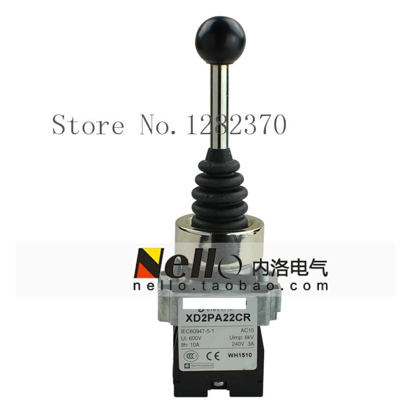 [ZOB] 22mm original véritable contrôleur maître interrupteur à bascule croisé XD2PA22CR/24CR/14CR/12CR réinitialisation automatique-5 pcs/lot