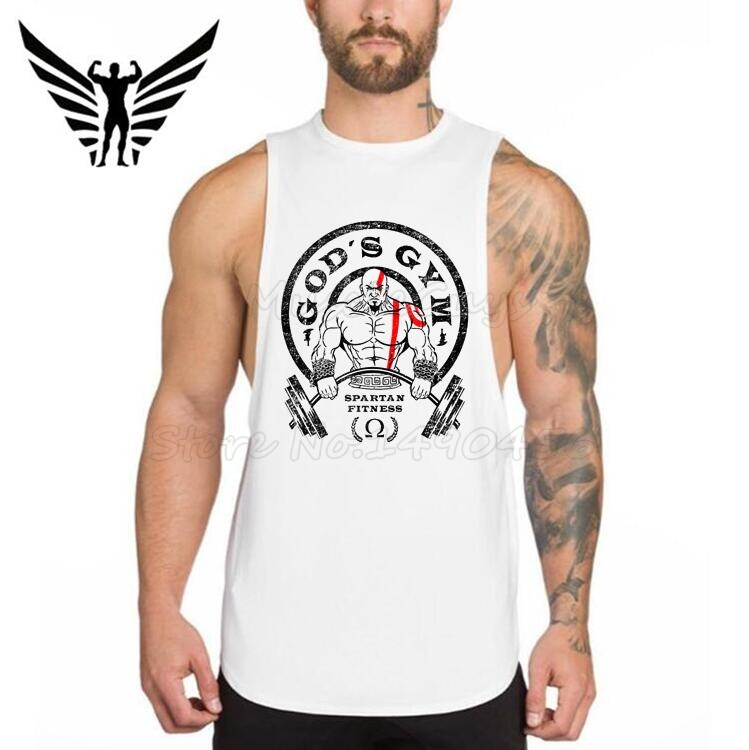 Muscleguys Brand Golds Gyms Clothing Men Fitness Shirts Cotton Men Tank Top Workout Bodybuilding Tank Tops Sleeveless Vest