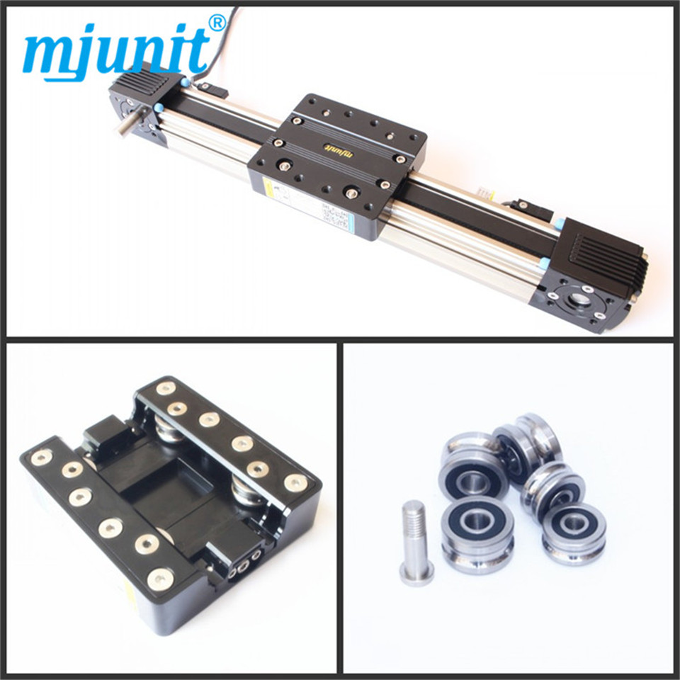 Glue dispenser machine rail, printing bed belt drive made in china High rigidity Roller Type wheel linear rail