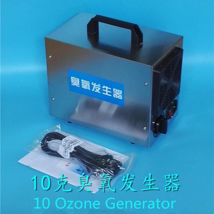 10g ceramic plate portable ozone generator machine for car air purifier home air cleaner medical Disinfection 110v 220v 12v 24v 220v 10g h ozone generator air purifier machine ceramic plate sterilizer fan