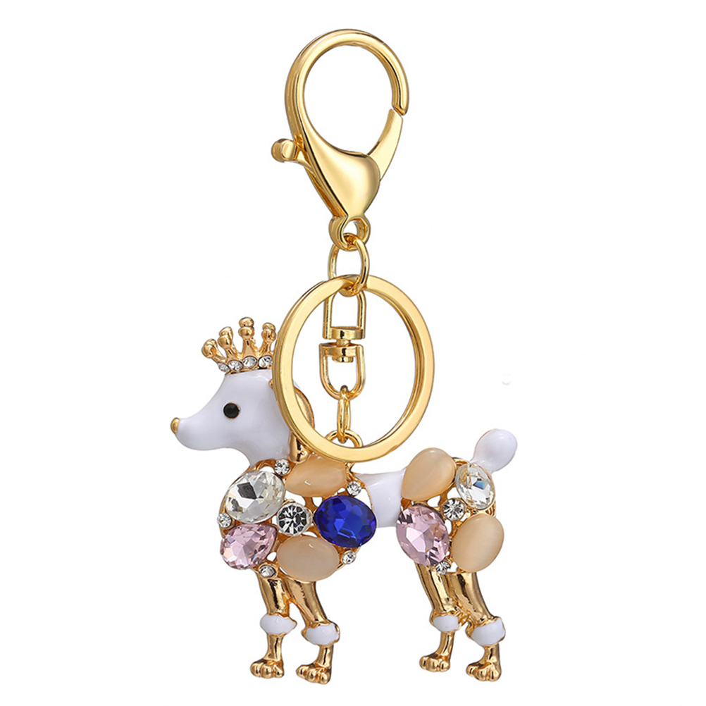 Fashion Gift Crown Ornament Key Chain Handbag Pendant Key Ring Key Holder