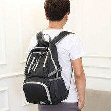 40L Folding Waterproof Bag Ultralight Unisex Shoulder Straps Outdoor Traveling Climbing Sport Foldable Nylon Backpack 3Colors