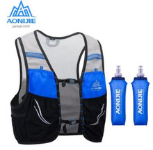 AONIJIE 2.5L Running Vest Lightweight Backpack Breathable Cycling Marathon  Portable Ultralight Hiking Sport 500ML Soft Flask