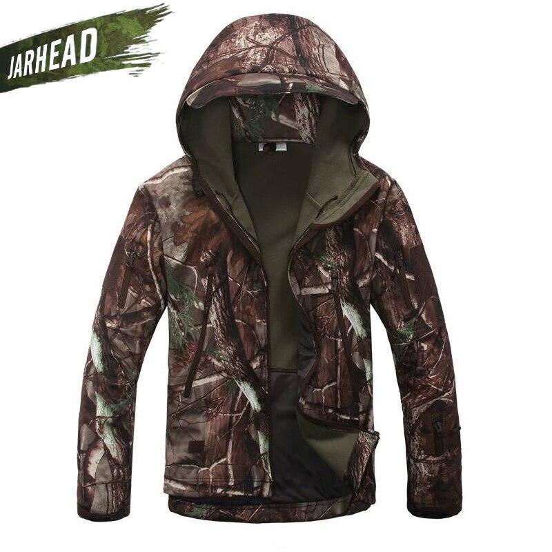 Haute qualité Lurker Camouflage veste peau de requin coque souple en plein air militaire chasseur tactique veste imperméable coupe-vent vêtements