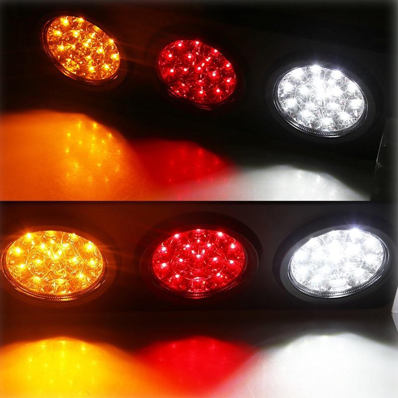 48 Caminhão LED/Luzes Da Cauda Do Reboque com Suporte do Ferro Base-DC12-24V Bar Luz Da Cauda À Prova D' Água para Ligar/ sinal/Correndo Lâmpadas