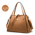 NO.1 NEW 2015 Women Genuine Leather Handbags Luxury Women Designer Handbags High Quality Brand Lady's Bag Retro Shoulder Bag Q5