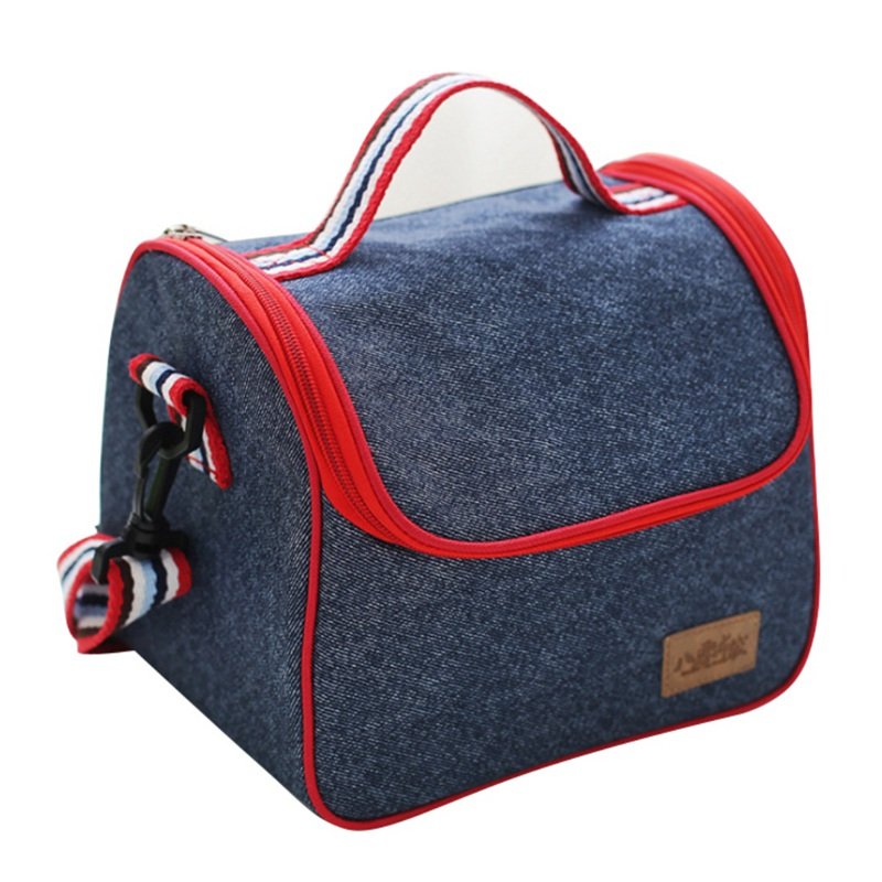 Leisure Portable Tote Cooler Food Box Ice Storage Denim Thermal Bag Heat Insulated Storage Bag 9 styles-in Storage Bags from Home u0026 Garden on Aliexpress.com ...  sc 1 st  AliExpress.com & Leisure Portable Tote Cooler Food Box Ice Storage Denim Thermal Bag ...