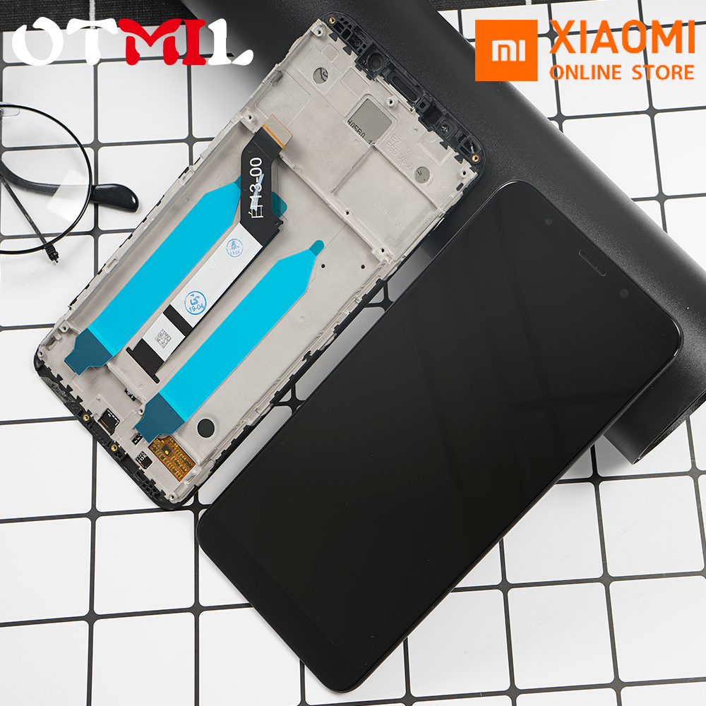 XIAOMI Frame Lcd-Display Touch-Screen Digitizer-Replacemt 5-Plus Original For Redmi