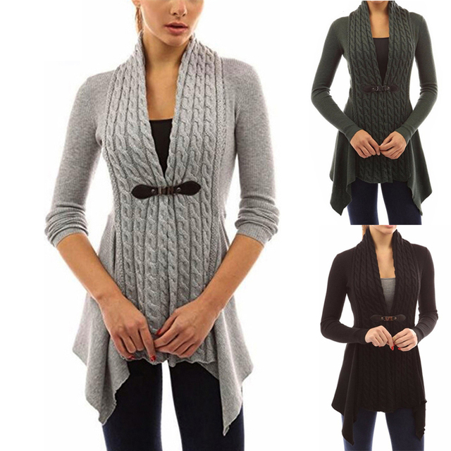 Women Jumper Autumn Casual 4XL Pull Long Femme Sweater Plus Cardigan Jacket Size 5XL Knitted 2018 aZHIqwH