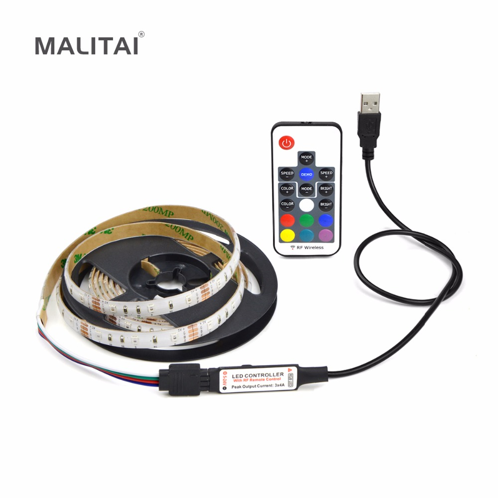 rgb usb led light strip dc 5v 2835 smd usb led lamp string ribbon 1m 2m 3m 4m 5m usb cable led. Black Bedroom Furniture Sets. Home Design Ideas
