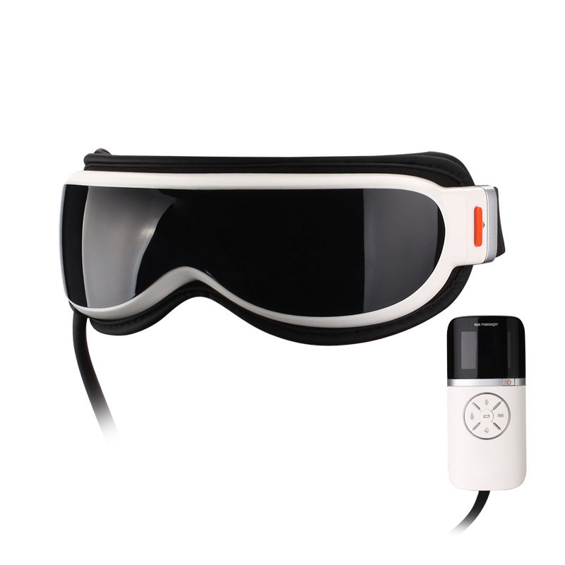 Новый Воздушный массажер для глаз с музыкой 6 функций развевает мешки для глаз, магнитное дальнее инфракрасное Отопление