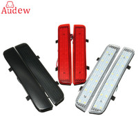 2Pcs LED Warning Light Rear Bumper Reflector Tail Reverse Turn Light For Land Rover L322 2003