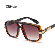 bc24fd795c Brand Designer Sun Glasses Female Vintage Square Mirror Sunglasses Women Men  Gradient Clear Lens Sunglases Oculos Feminino UV400