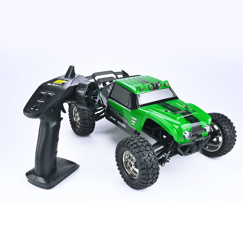 все цены на High Speed RC Car Thruster 1:12 2.4GHz 4WD Drift Desert Off-road High Speed Racing Car Climbing Climber RC Car Model Toy for Kid