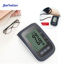 Automatic Digital LCD Upper Arm Blood Pressure cuff Monitor meter Health Care Sphygmomanometer auto Cufffor Tonometer pulsometer yongrow wireless digital upper arm blood pressure monitor with cuff adjustable cuff that fits standard and large arms