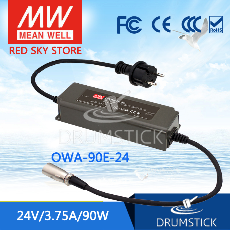 MEAN WELL OWA-90E-24 24V 3.75A meanwell OWA-90E 24V 90W Single Output Moistureproof Adaptor [sumger1] mean well original owa 90e 12 12v 7 5a meanwell owa 90e 12v 90w single output moistureproof adaptor