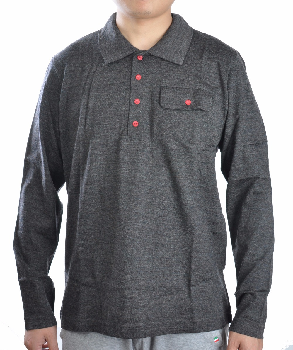 d2659d64880da Merino Wool Polo Shirt – Rockwall Auction