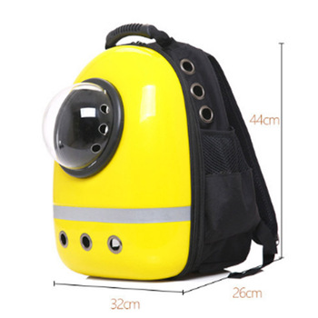 New Space Capsule Astronaut Pet Cat Backpack Bubble Window for Kitty Puppy Chihuahua Small Dog Carrier Crate Bag Cave Party Gift 3