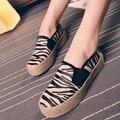 Sapatos femininos 2015 Англия Случайные лифт обувь мода клин обувь холст туфли на платформе женщины качество обуви бесплатная доставка