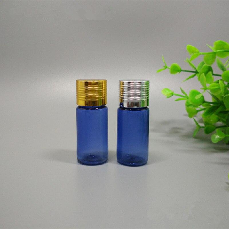 10 мл Пластик спрей Синий Бутылка Косметика Бутылочки упаковка бутылки дробные бутылки