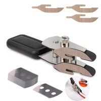 EHDIS Vinyl Car Wrap Double Layer Teflon Cutter Utility Knife+10pcs Blade Carbon Foil Film Auto Sticker Cut Tool Accessories