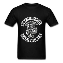 Sons of Anarchy Grim Reaper T Shirt for Man