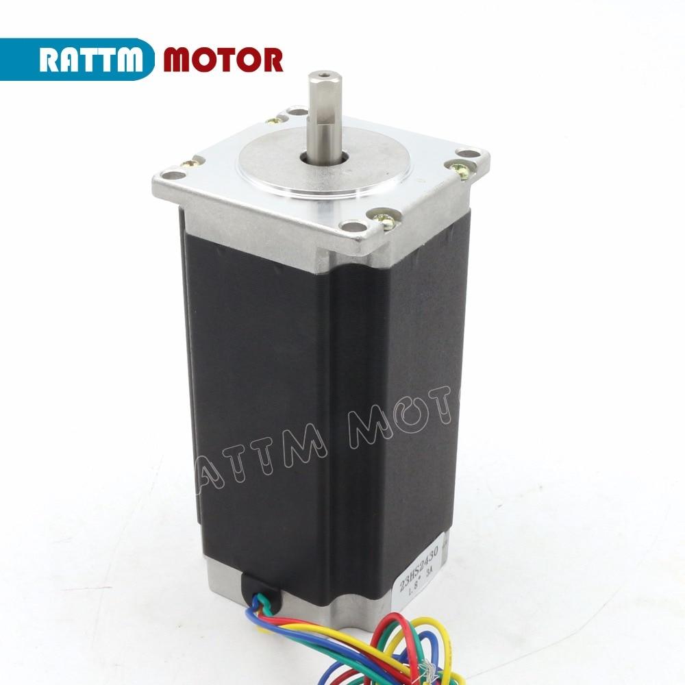 medium resolution of nema23 cnc stepper motor 112mm 425oz in 3a cnc stepper motor stepping motor 3d printer robot foam plastic metal in stepper motor from home improvement on