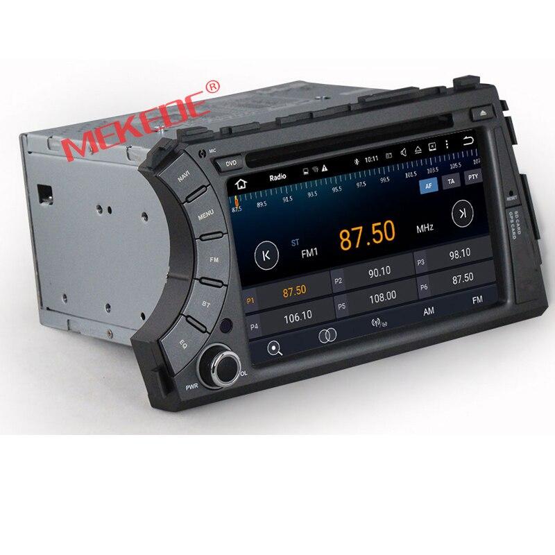 Il trasporto Libero, quad Core Pure Android 7.1 1024x600 GPS del DVD Dell'automobile Per Ssangyong Actyon Kyron radio Con 4g WiFi OBD DVR
