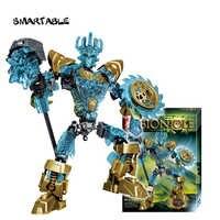 Smartable BIONICLE 94pcs Ekimu The Msdk Maker figures 613-1 Building Block Toy Set For Boy Compatible All Brands 71312 BIONICLE