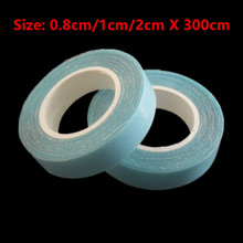1roll High Quality Extraordinarily Waterproof Double-Sided Adhesive Tape for Skin Weft Hair Extension Tapes Wig Hairpiece 300CM