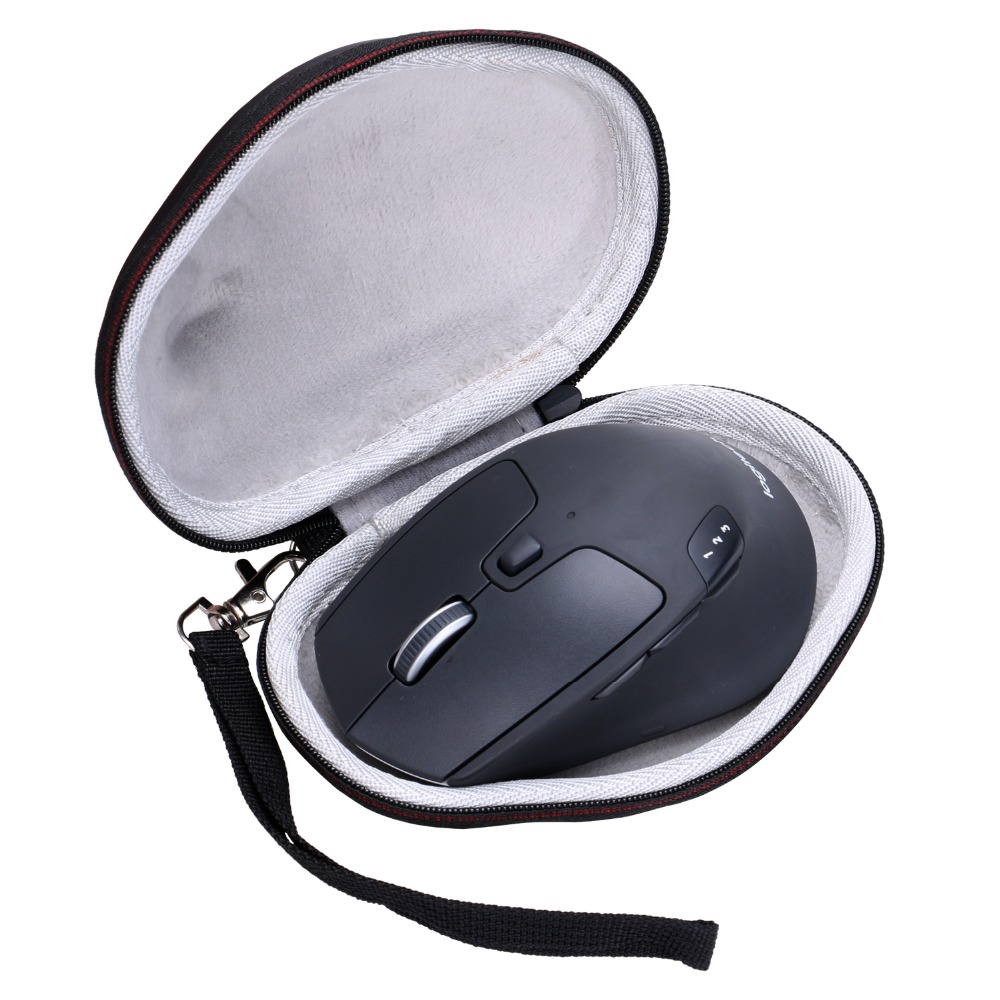 LTGEM EVA Hard Case For Logitech M720 Triathalon Multi-Device Wireless Mouse - Travel Protective Carrying Storage Bag