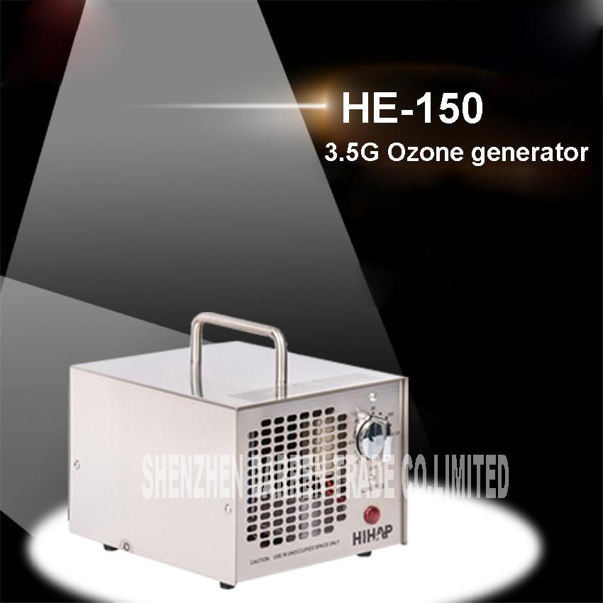 3.5 G/H filtro aria portatile generatore di ozono ozono disinfezione dellaria della macchina dellozono macchina disinfezione delle famiglie HE-1503.5 G/H filtro aria portatile generatore di ozono ozono disinfezione dellaria della macchina dellozono macchina disinfezione delle famiglie HE-150