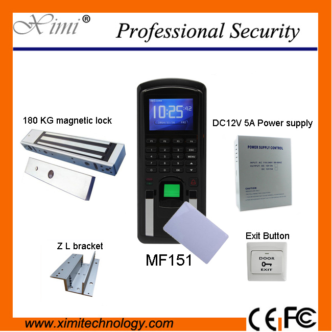 Biometric  fingerprint access control and time attendance systemMF151 TCP/IP communication IC Card fingerprint door lock wifi biometric face time attendance and access control system iface302 wifi communication fingerprint wifi terminal