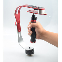 Estabilizador de cámaras Mini estabilizador de mano profesional de vídeo Steadycam del estabilizador para gopro estabilizador Canon Nikon accesorios