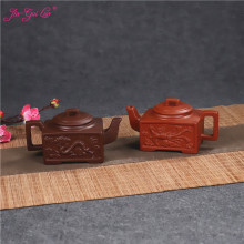 JIA-GUI LUO 140ML Purple Clay yixing teapot  traditional chinese tea set tea set siteel oolong tea Portable travel tea set H021 стоимость