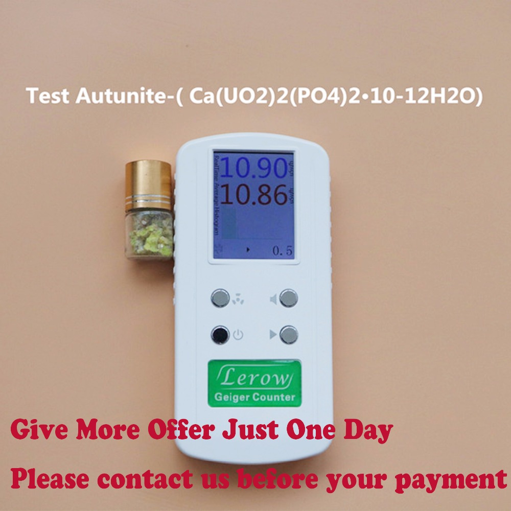 Professional geiger Counter Nuclear Radiation Detector Personal dosimeters Detects Combined Beta Gamma X-Ray Ionizing Radiation цены