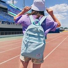 2019 Hot School student Backpack Large Capacity Rucksack Women Travel Bag Women's Canvas Shoulder Bags student Backpacks