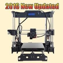 Tronxy 2016 Calidad Mejorada de Alta Precisión Reprap impresora 3D Prusa i3 DIY kit T818 con