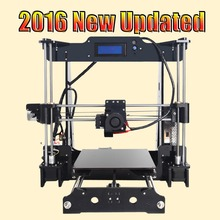 Tronxy 2016 Upgraded High quality Excessive Precision Reprap 3D printer Prusa i3 DIY package T818 with Mega 2560 auto leveling