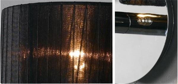 Sadəlik Müasir Otel Divar Lampası Sconce Xrom Yataq otağı - Daxili işıqlandırma - Fotoqrafiya 3
