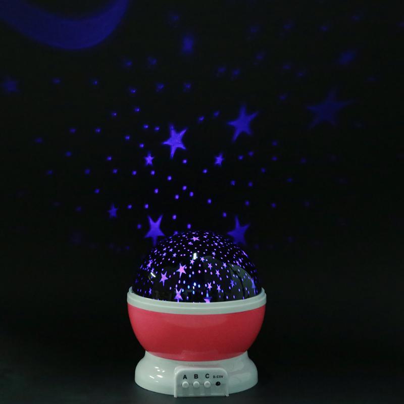 Night Light Projector for Children Rotating Star Projector LED Lights Christmas Garden Decoration Lighting for Child Gift