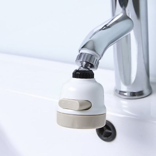 Kitchen Bathroom Rotate Diffuser Adapter Swivel Faucet Tap Aerator ...