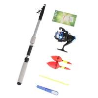 Outdoor Fishing Tool Set Compelet Starter Junior Beginner 1 5M 1 8M Fishing Rod Reel Kit