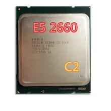 Für intel xeon processo sr0kk e5-2660 20 mt cache/2,2/ghz/8,00 gt/s 95 watt lga 2011 e5 2660, freies verschiffen